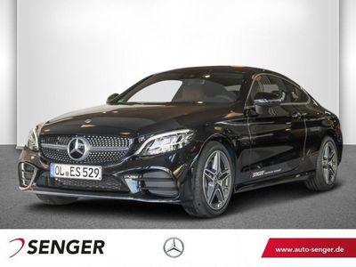 gebraucht Mercedes C200 Coupé AMG-Line Navi LED Kamera Spur-Paket