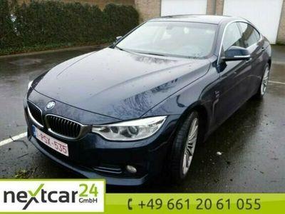 gebraucht BMW 418 Gran Coupé 4er Reihe luxury LEDER NAVI PROF XENON PDC