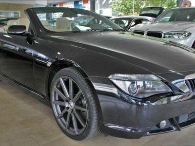 "gebraucht BMW 630 Cabriolet i Leder Automatik Navi Windschott 20"""