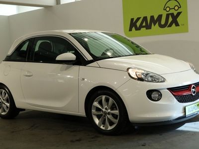 gebraucht Opel Adam 1.2 Jam EU6 +Einparkhilfe +Tempomat +Klima +Sonderlackierung Arcitc White +1.Hand
