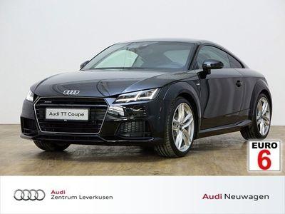 gebraucht Audi TT Coupe 2.0 TFSI quattro S line B O Leder Navi - Klima,Sitzheizung,Alu,Servo,