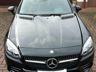 gebraucht Mercedes SLC43 AMG ComandDistronic als Cabrio/Roadster in Petersberg