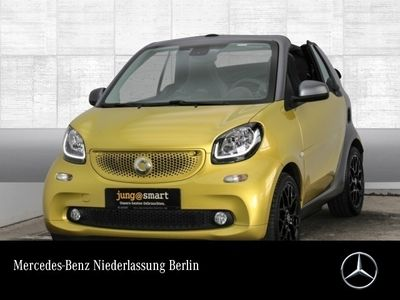 gebraucht Smart ForTwo Cabrio 66kW prime DCT cool&Media Sport SHZ
