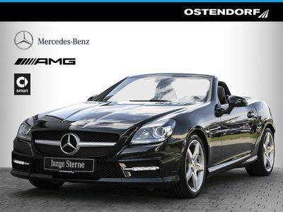 gebraucht Mercedes SLK200 *AMG*7G-Tronic*Navi*Airscarf*Parktronic*