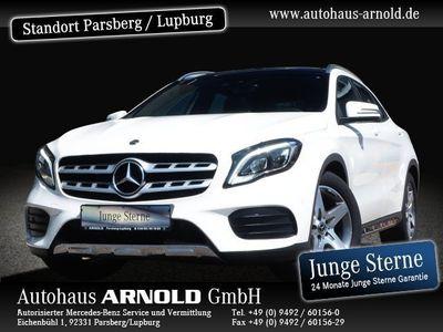 gebraucht Mercedes GLA250 AMG Line Panoramadach LED DAB Navi Sitzh