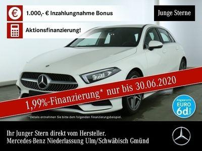 gebraucht Mercedes A250 AMG LED Keyl-GO Spurhalt-Ass PTS Sitzh Temp