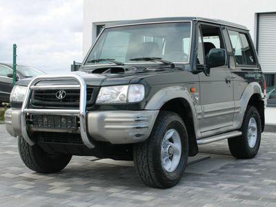 gebraucht Hyundai Galloper 2,5 TD Exceed 2.Hand