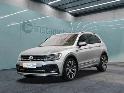 gebraucht VW Tiguan Tiguan1.4 TSI 4M R-Line DSGNaviLEDSHZ Klima