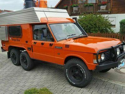 gebraucht Land Rover Range Rover Expeditionsmobil mit 3 Achsen, 4x4