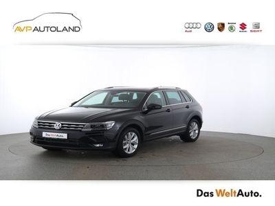 gebraucht VW Tiguan IQ.DRIVE 2.0 TSI BMT DSG 4MOTION | ACC schwarz