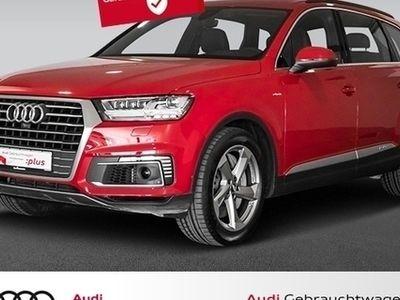 gebraucht Audi Q7 e-tron 3.0 TDI S line Standheizung 7-Sitzer Mat (S