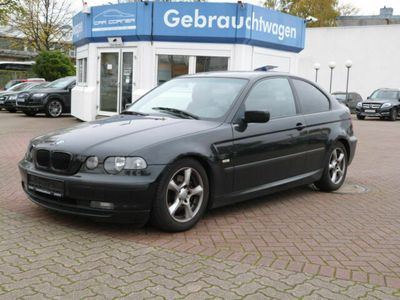 gebraucht BMW 320 td Compact KLIMA M LENKRAD TEMPOMAT ALU EURO4