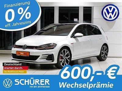 gebraucht VW Golf I Golf VII DSG GTI Performance LED Navi Pano Leder StHz Kamera DCC AppConnect ACC