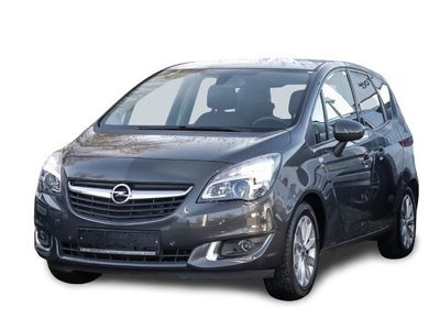 gebraucht Opel Meriva B drive 1.4 Turbo PDCv+h LED-hinten LED-Tagfahrlicht Tel.-Vorb. Multif.Lenkrad