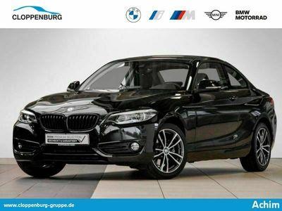 gebraucht BMW 220 d Coupé Sport Line Navi LED Shz Leder Klima - als Sportwagen/Coupé in Syke