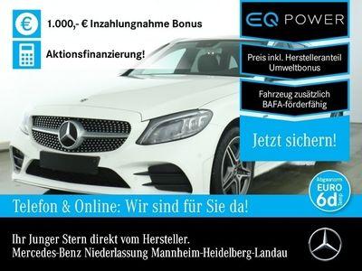 gebraucht Mercedes C300 e T AMG Spurhalt