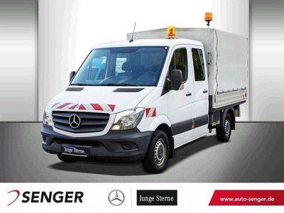gebraucht Mercedes Sprinter 216 Doka Pritsche Plane, AHK, Standhzg.