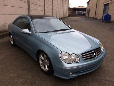 gebraucht Mercedes CLK270 Coupe CDI Avantgarde Automatik