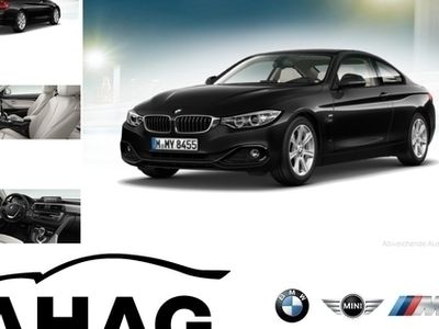 gebraucht BMW 420 d Coupe Sport Line Sport Aut. Navi Business