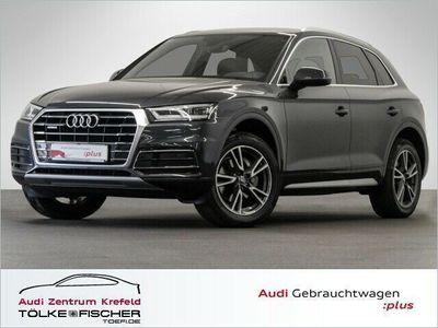 gebraucht Audi Q5 40 TDI quat./S tronic Navi LED Klima