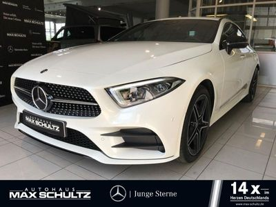 gebraucht Mercedes CLS400 d 4M Coupe AMG line*Burmester*Widescreen