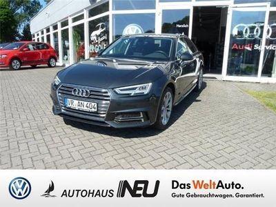gebraucht Audi A4 Lim. 2,0 TDI S-Line,AHK,Navi,LED,GRA Klima
