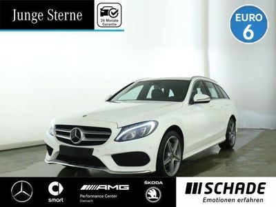 used Mercedes C200 T AMG Line Distronic*LED*Navi*Business+P.* R-CD