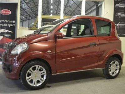 gebraucht Microcar M.Go LUXE RED LINE Mopedauto Leichtmobile 45 KM