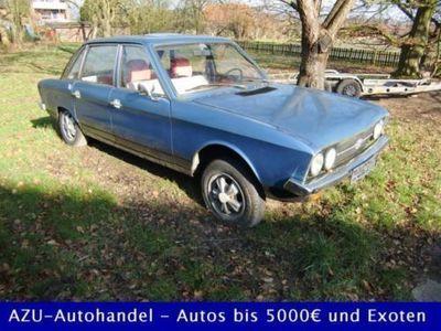 usado VW K70 L, Pappbrief, H-Zulassung, Fuchsfelgen, AHK