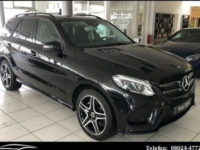 käytetty Mercedes GLE400 4M AMG Line Comand Pano AHK Airmatic Nig