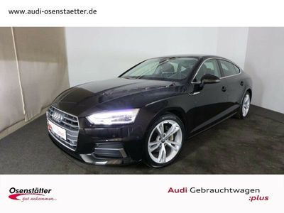 gebraucht Audi A5 Sportback 40 TDI sport qu Leder Xenon+ Navi+ Sitzhzg. Klima