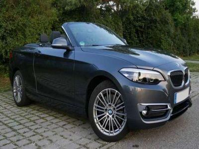 gebraucht BMW 230 2er Cabrio Aut. Luxury Line