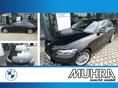 gebraucht BMW 220 d xDrive M Sportpaket Navi LED Speed Limit Info