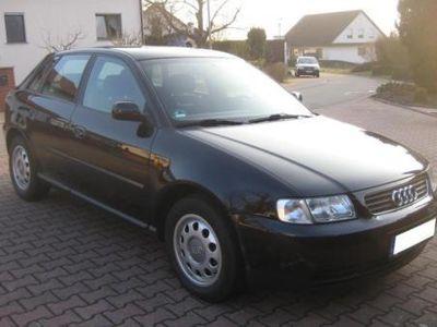 gebraucht Audi A3 1.6 TÜV + AU sind NEU !! 4-Türer,Klima,AHK,Alu,unfallfrei