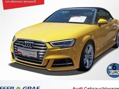 gebraucht Audi S3 Cabriolet 2.0 TFSI Stronic LED/Virtual/B&O/Leder