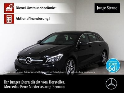 gebraucht Mercedes CLA180 Shooting Brake AMG LED Navi Laderaump Sitzh Chromp