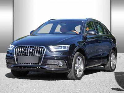 gebraucht Audi Q3 2.0 TDI Qu S line Sel. Xenon Sound SHZ 2xPDC
