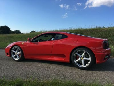 gebraucht Ferrari 360 Modena F1 Rot/Schwarz Racingsitz, 2.Hand