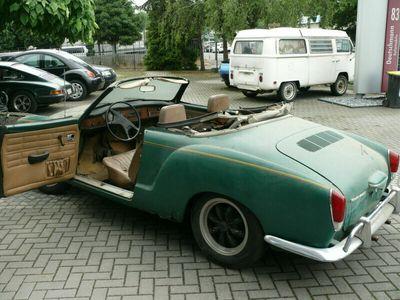 gebraucht VW Karmann Ghia Cabriolet z. Restaurieren