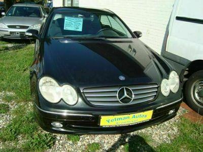 gebraucht Mercedes CLK240 CLK Coupe