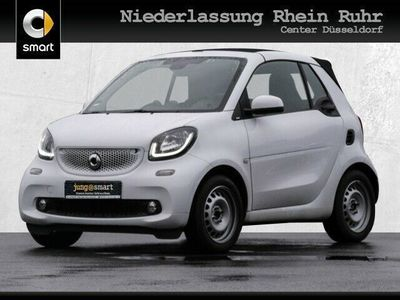 gebraucht Smart ForTwo Cabrio 66kW prime DCT Sport SHZ LED JBL