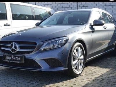 gebraucht Mercedes C300 T Avantgarde Sportabgas Navi LED AHK Easy