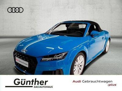 gebraucht Audi TT Roadster 45 TFSI QUATTRO S LINE+KOPFHEIZUNG+O