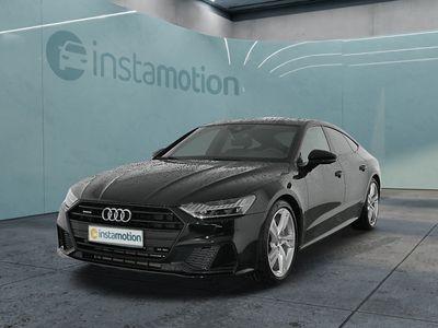 gebraucht Audi A7 Sportback A7 55TFSI S Line NaviLEDLederStdhzg