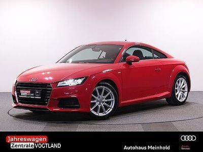 gebraucht Audi TT Coupe 1.8 TFSI S tronic S line Sel.,APSv+h,LED,GRA,SITZHEIZ.