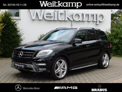 gebraucht Mercedes ML500 4M AMG+Comand+Xenon+360°+Airmatik+Totw. AMG Line