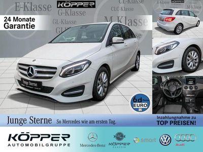 gebraucht Mercedes B180 White Edition Style Navi/KeylessGo/Klima L