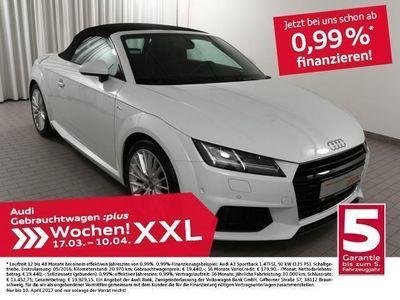 gebraucht Audi TT Roadster 2.0TDi 3xS line/NAV+/Alcantara (Navi LED