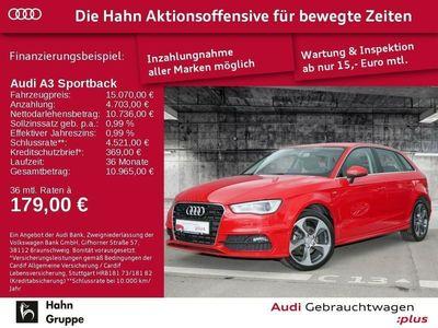 gebraucht Audi A3 Sportback S line 1.4TFSI S-line Xen Sitzh Klima