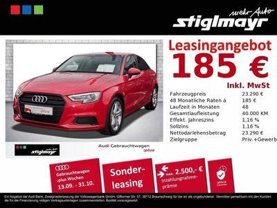 gebraucht Audi A3 Limousine Sport 1.5 TFSI DAB+Navi+Sportsitze+